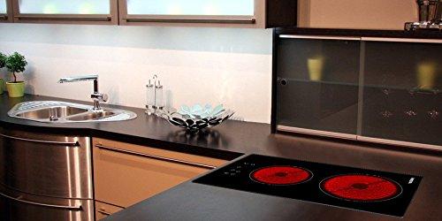 Kochfeld Autark – Ceranfeld mit Sensor-Touch-Display – Viesta C2Z hochwertiges Cerankochfeld mit Überhitzungsschutz und 9 Kochstufen