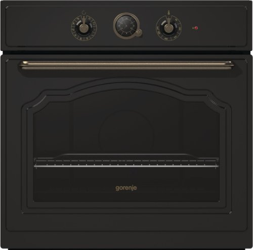 Gorenje BO 73 CLB Backofen Elektro / A / 67 Liter / matt-schwarz / Backmuffe Homemade / AquaClean / Classico Collection