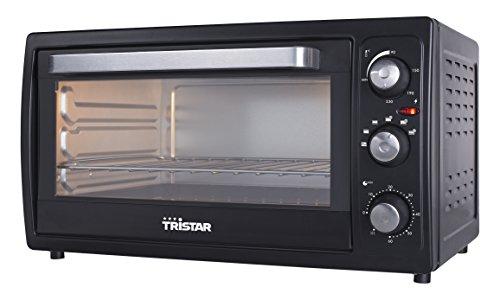 Tristar OV-1446 Umluftofen Inhalt 38 L/2000 W/35 cm/Auftaufunktion/schwatrz