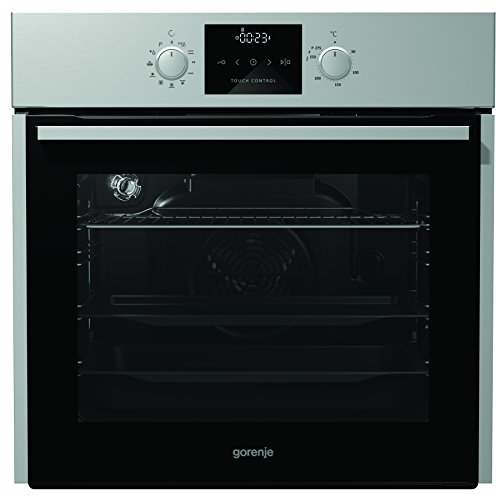 Gorenje BOP 637 E11X Backofen Elektro / A / Backmuffe Homemade 65 L / Edelstahl / Pyrolyse-Reinigung / Icon LED / versenkbare Knebel / Anti-Fingerprint