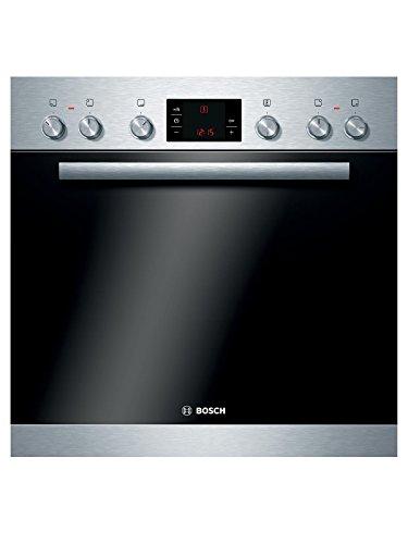 Bosch HND32PS50 Backofen-Kochfeld-Kombination / A / 66L / Edelstahl / 3D Heißluft Plus / Zweikreis-Kochzone / 60 cm