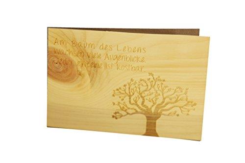 Top 9 Sprüche Holz – Grußkarten