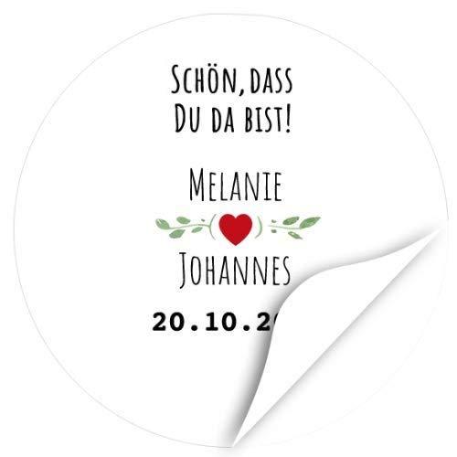 Top 10 Schön Das du da bist Aufkleber Personalisiert – Dekorative Sticker