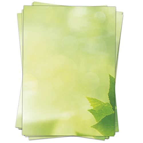 Top 9 Flügel grün – Briefpapier