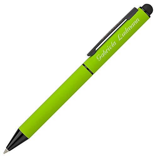Top 8 Kugelschreiber Grün mit Gravur – Druckkugelschreiber