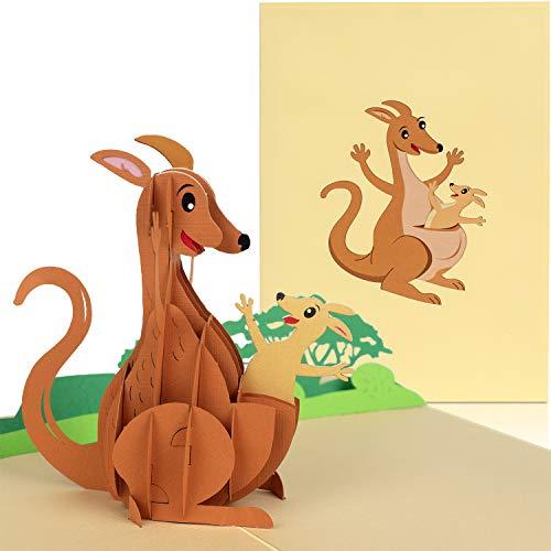 Top 10 Känguru Spiel – Grußkarten
