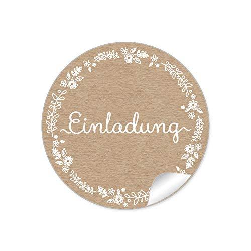 Top 10 Aufkleber EINLADUNG Hochzeit Gold – Universal-Aufkleber