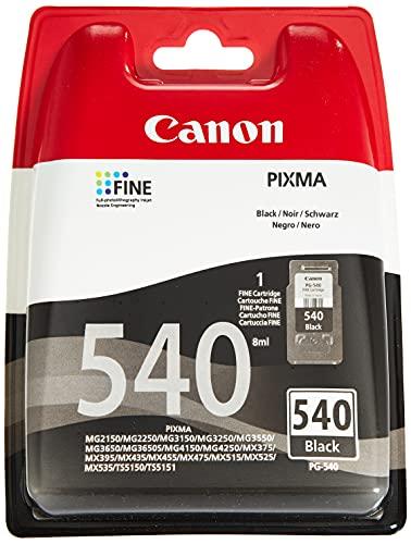 Top 7 Canon PG-540 Tintenpatrone 8ml Schwarz – Drucker