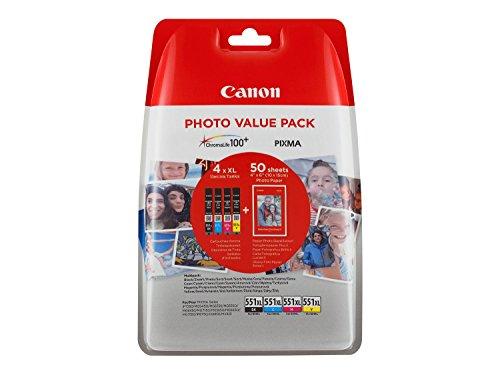 Top 7 Canon CLI-551 4 ORIGINAL Tintenpatrone Multipack – Tintenpatronen