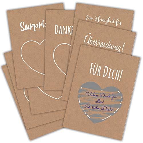 Top 7 Gutscheinkarten zum Selbstausfüllen – Kartenkartons