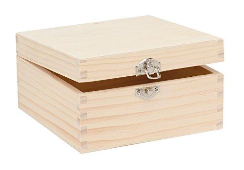 Top 9 Holzkiste mit Deckel – Bastel-Schränke