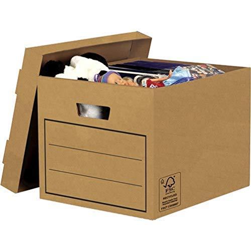 Top 10 Archivkarton mit Deckel – Bürobedarf: Ablageboxen