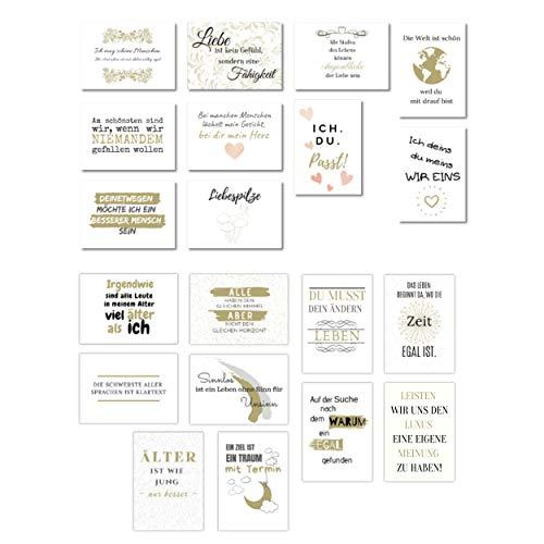 Top 9 Postkarten Gold SET – Bürobedarf & Schreibwaren