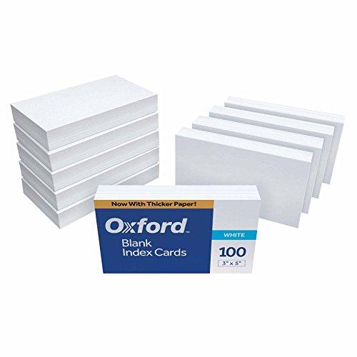 Top 5 Index Cards Blank – Karteikarten