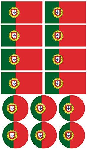 Top 8 Portugal Zubehör – Dekorative Sticker