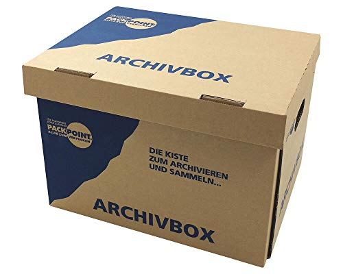 Top 9 Archivboxen Karton – Bürobedarf: Ablageboxen