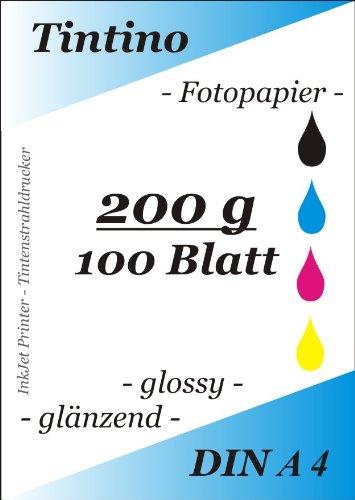 Top 10 Hochglanz Papier DIN A4 – Papier für Tintenstrahldrucker