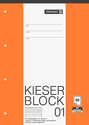 Top 7 Lineatur 1 A4 Block – Schulhefte