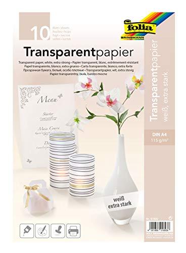 Top 9 Transparentpapier bedruckbar – Transparentpapier