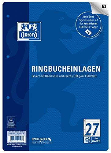 Top 4 Ringbucheinlagen A4 liniert – Spiralbücher für Schule & Beruf