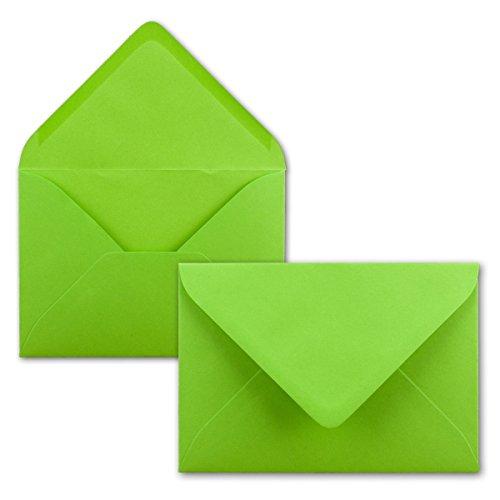 Top 9 Grüne Briefumschläge Grün, C6 – Umschläge für Grußkarten & Einladungen