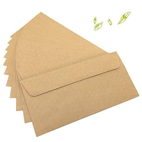 Top 10 DIN Lang Kraftpapier – Versandzubehör: Geschäftsumschläge