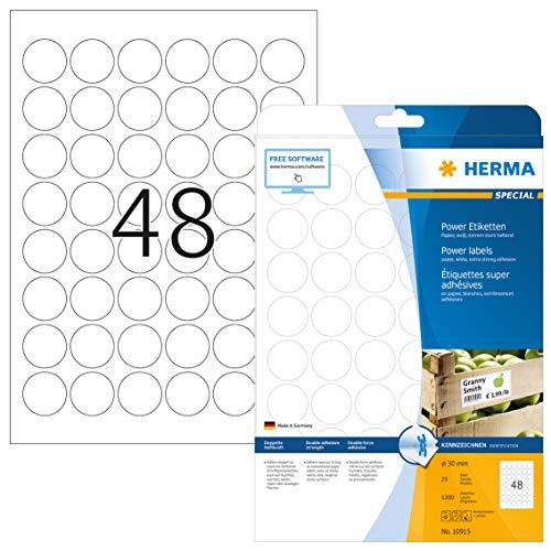 Top 10 kleine runde Etiketten – Dekorative Sticker