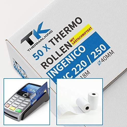 Top 10 Ingenico ict220 – Thermopapier