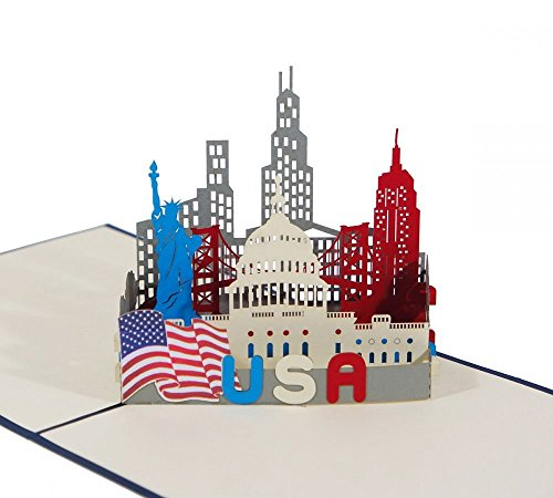 Top 10 USA Reise Geschenk – Grußkarten