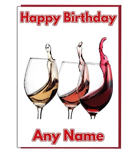 Top 10 Personalisierte Weingläser – Grußkarten