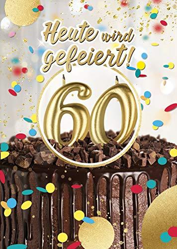 Top 10 Geburtstagskarte 60 mit Musik – Grußkarten