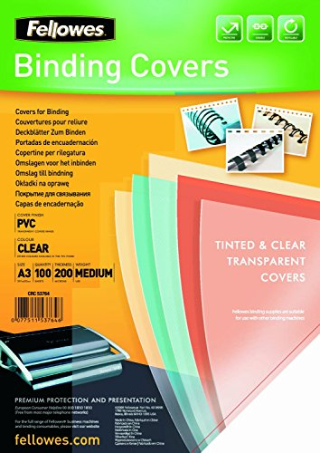 Top 8 Cover A3 – Vorder- & Rückwände für Buchbinderei