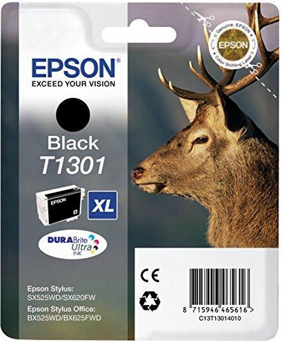 Top 9 Epson T1301 XL schwarz Tintenpatrone – Drucker