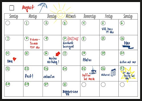 Top 8 Monthly Planner Board – Whiteboards