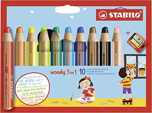 Top 8 STABILO woody 3 in 1 – Mal- & Zeichenzubehör für Kinder