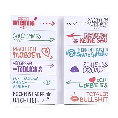 Top 10 Lustige Stempel Büro Set – Selbstklebende Notizzettel