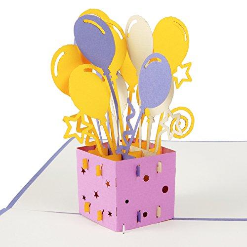 Top 10 Luftballon 40 Geburtstag – Grußkarten