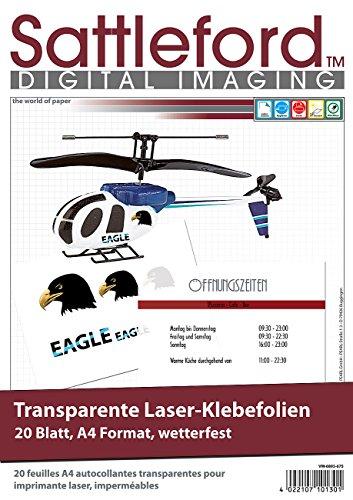 Top 10 Folie selbstklebend transparent Laserdrucker – Etiketten & Aufkleber