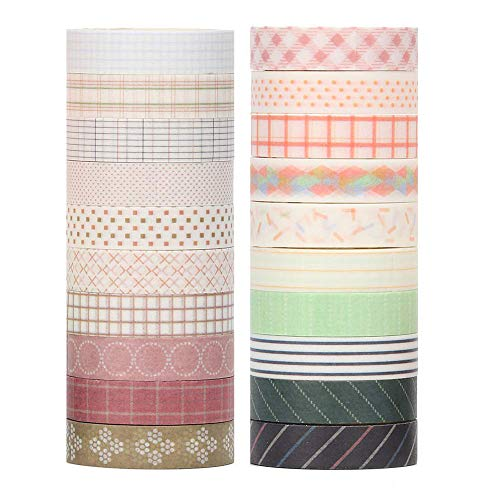 Top 9 Washi Tape rosegold Set – Klebebänder