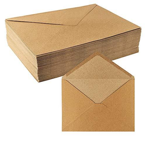 Top 10 Kraftpapier Umschläge A5 – Umschläge für Grußkarten & Einladungen