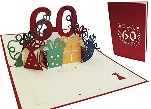 Top 10 Geburtstagskarten zum 60 Geburtstag – Grußkarten