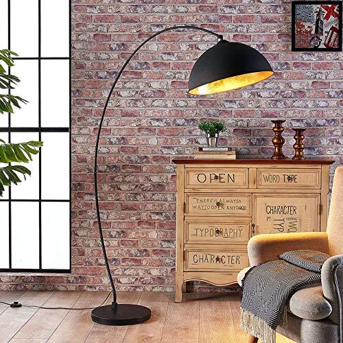Top 9 Bogenlampe schwarz Gold – Standleuchten & Deckenfluter