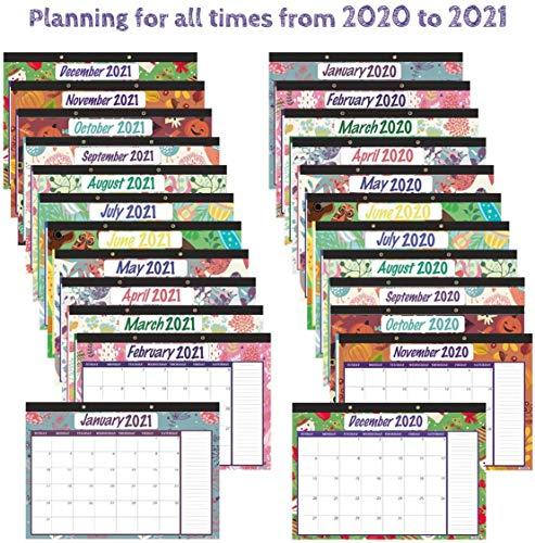 Top 8 große Kalender 2020 Wandkalender – Tischkalender & Zubehör