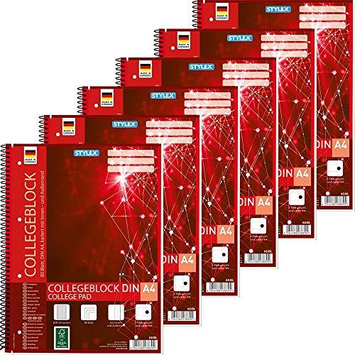 Top 8 Spiralblock kariert A4 – Notizbücher